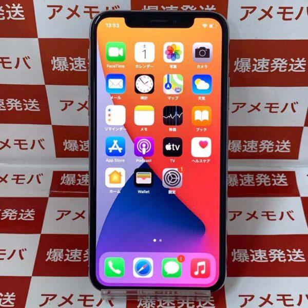iPhoneX SoftBank版SIMフリー 64GB MQAY2J/A A1902-正面
