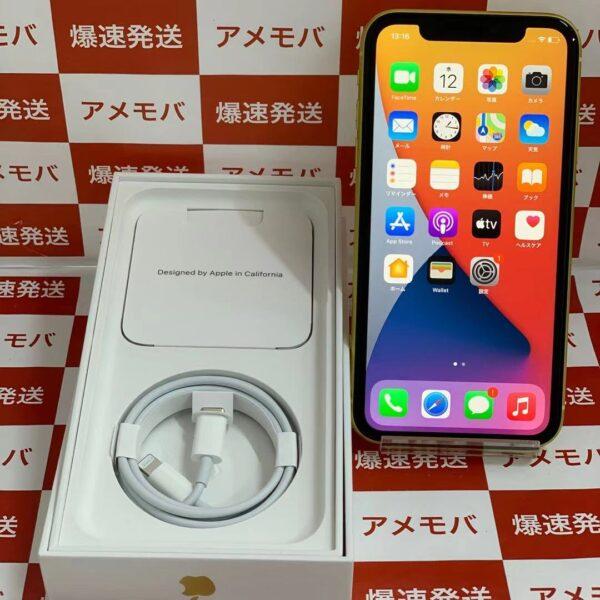 iPhone11 Apple版SIMフリー 64GB MHDE3J/A A2221-正面