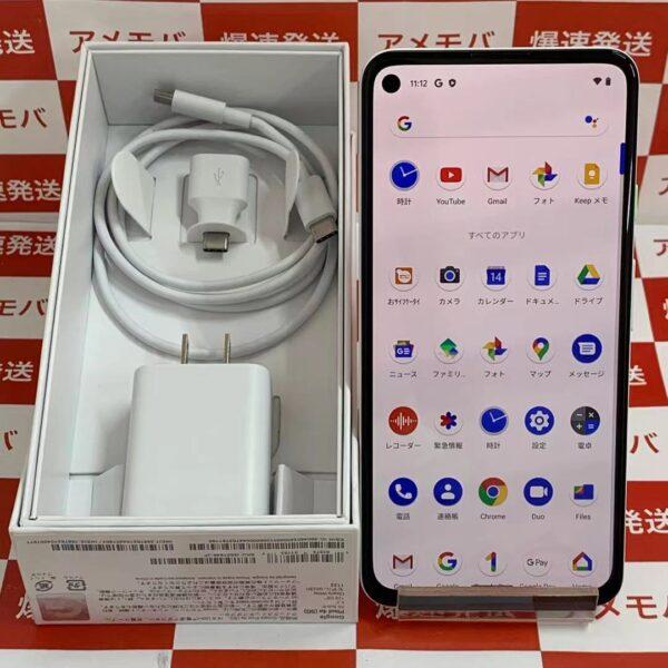 Google Pixel 4a (5G) 国内版SIMフリー 128GB G025H-正面