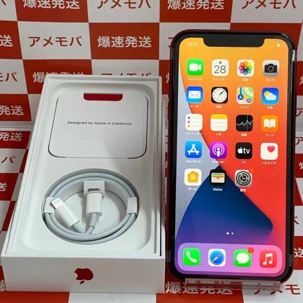 iPhone11 docomo版SIMフリー 128GB MHDK3J/A A2221-正面