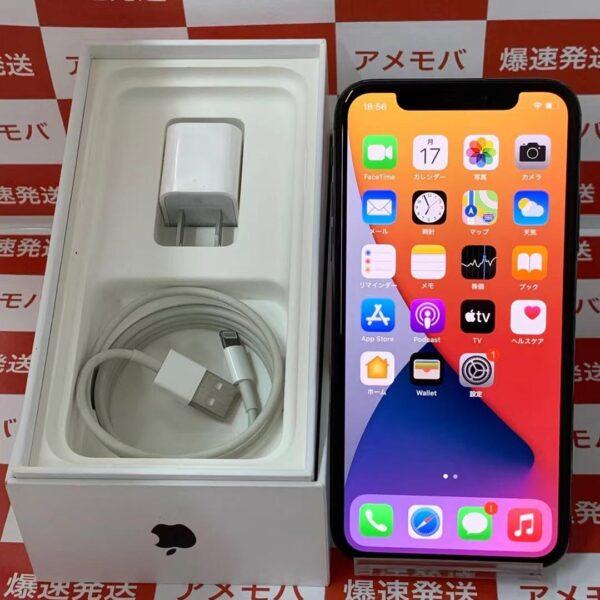 iPhoneX au版SIMフリー 256GB MQC12J/A A1902-正面