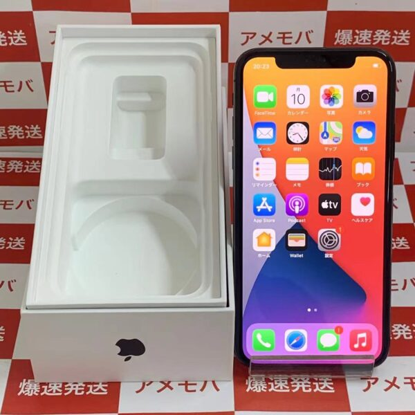iPhoneX SoftBank版SIMフリー 64GB MQAX2J/A A1902-正面