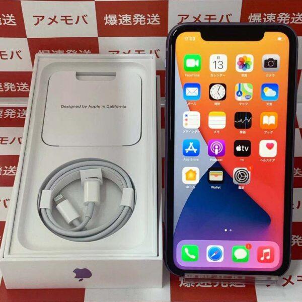 iPhone11 Apple版SIMフリー 128GB MHDM3J/A A2221-正面