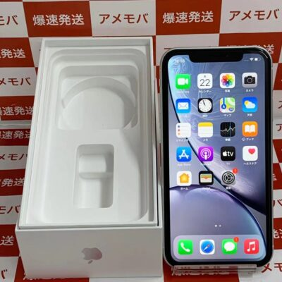 iPhoneXR SoftBank版SIMフリー 128GB MT0J2J/A A2106