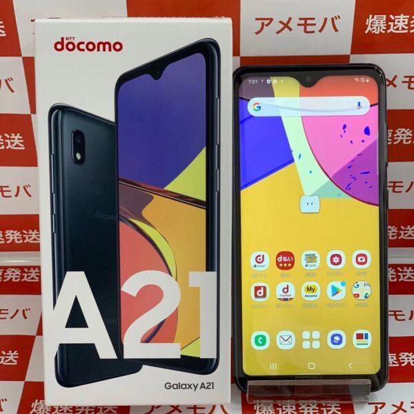 Galaxy A21 SC-42A 64GB docomo版SIMフリー正面