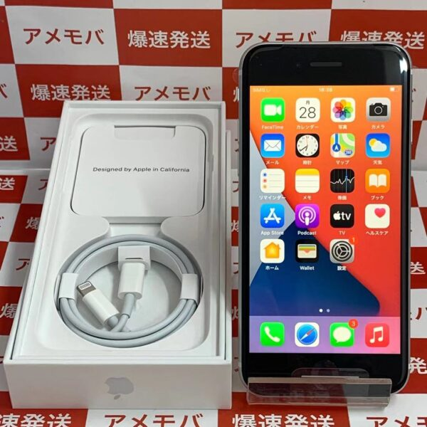 iPhoneSE 第2世代 docomo版SIMフリー 64GB MHGQ3J/A A2296正面