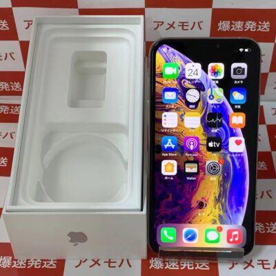 iPhoneXS SoftBank版SIMフリー 256GB MTE12J/A A2098