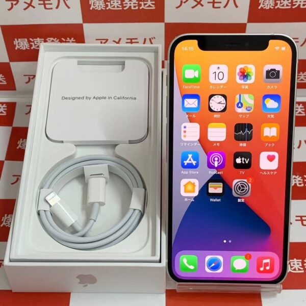 iPhone12 mini Apple版SIMフリー 64GB MGA63J/A A2398-正面
