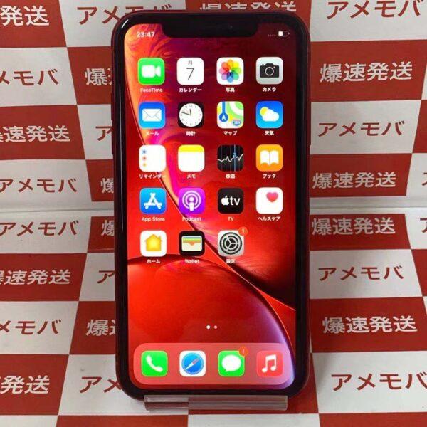 iPhoneXR SoftBank版SIMフリー 64GB MT062J/A A2106正面
