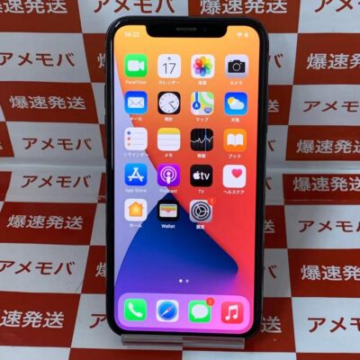 iPhoneX au版SIMフリー 64GB NQAX2J/A A1902
