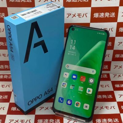 OPPO A54 5G UQmobile 64GB OPG02 SIMロック解除済み