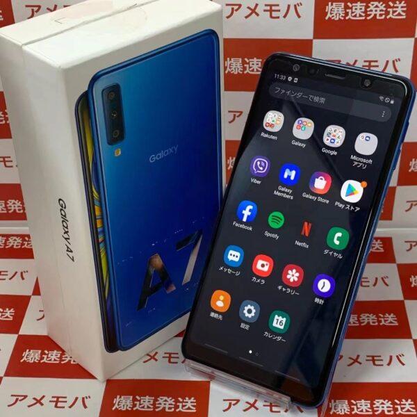 Galaxy A7 SM-A750C 楽天モバイル版SIMフリー 64GB 極美品-正面