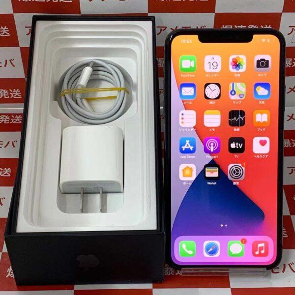 iPhone11 Pro Max SoftBank版SIMフリー 256GB MWHM2J/A A2218 美品-正面