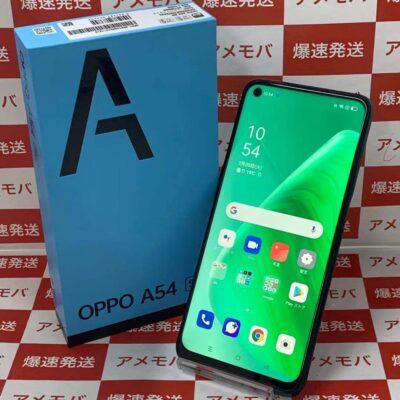 OPPO A54 5G OPG02 au 64GB SIMロック解除済み 新品同様品