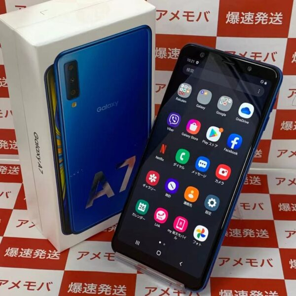 Galaxy A7 SM-A750C 楽天モバイル版SIMフリー 64GB SM-A750C 極美品-正面