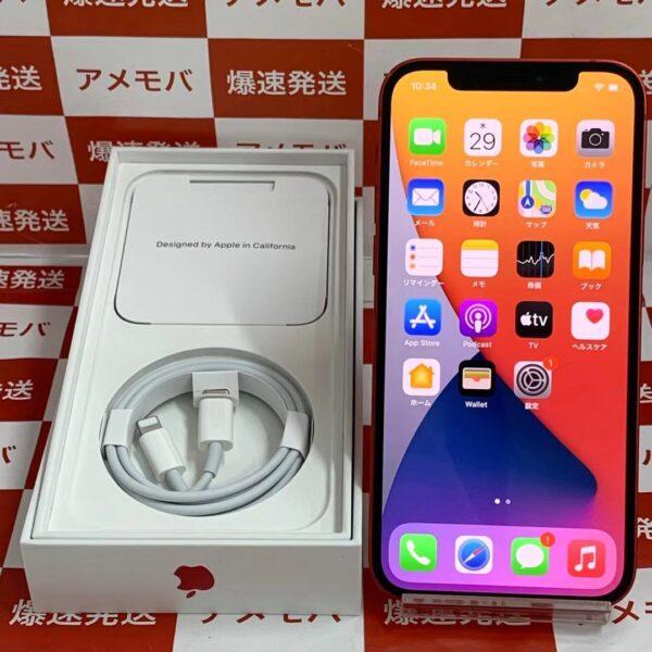 iPhone12 Apple版SIMフリー 64GB MGHW3J/A A2402-正面