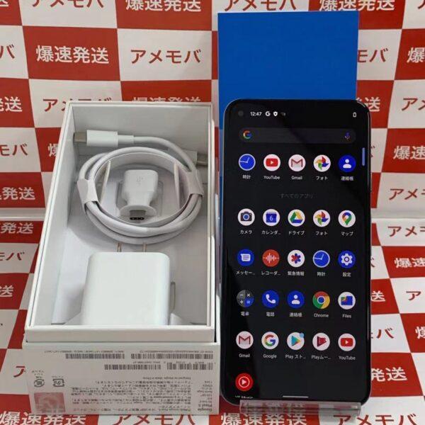 Google Pixel 5 国内版SIMフリー 128GB G5NZ6-正面