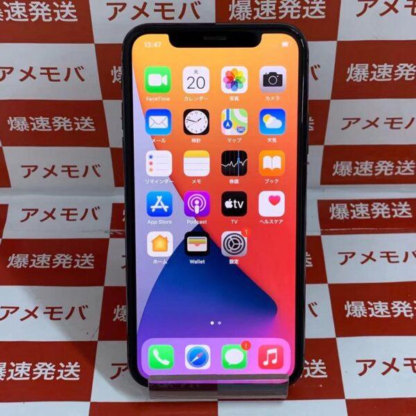 iPhoneX SoftBank版SIMフリー 256GB MQC12J/A A1902 美品-正面