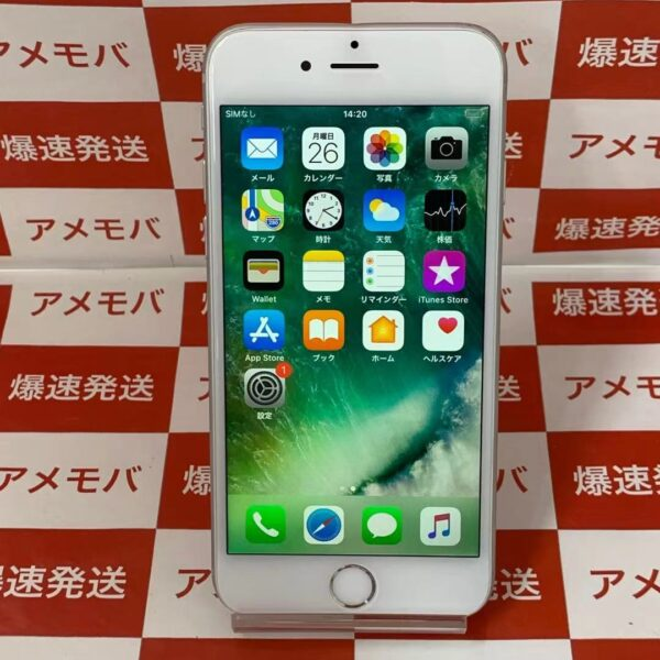 iPhone6 au 64GB NG4H2J/A A1586-正面