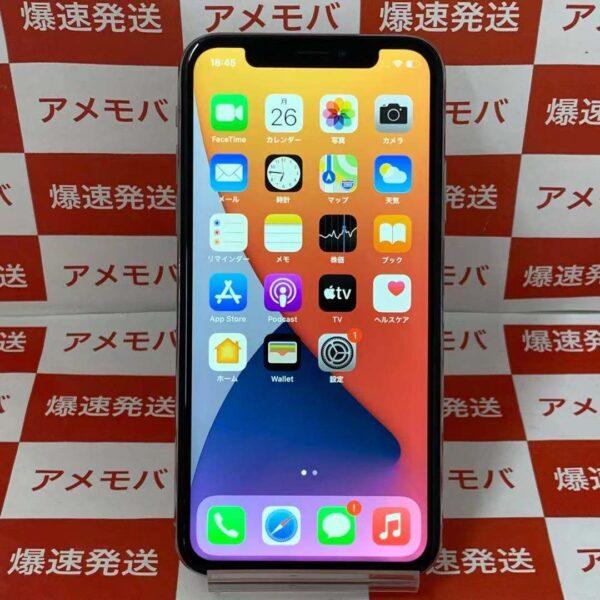 iPhoneX docomo版SIMフリー 64GB NQAY2J/A A1902-正面