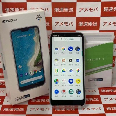 Android One S6 Y!mobile 32GB S6-KC SIMロック解除済 極美品