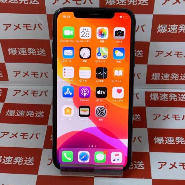 iPhoneX Apple版SIMフリー 256GB MQC12J/A A1902-正面