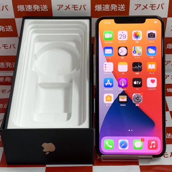iPhone11 Pro Max au版SIMフリー 64GB MWHG2J/A A2218-正面