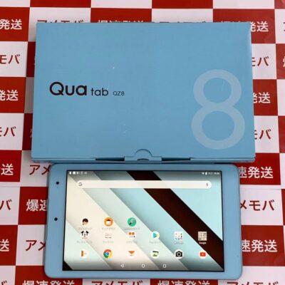 Qua tab QZ8 KYT32 au 32GB SIMロック解除済み 新品同様品