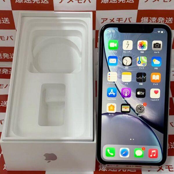 iPhoneXR au版SIMフリー 128GB MT0J2J/A A2106-正面