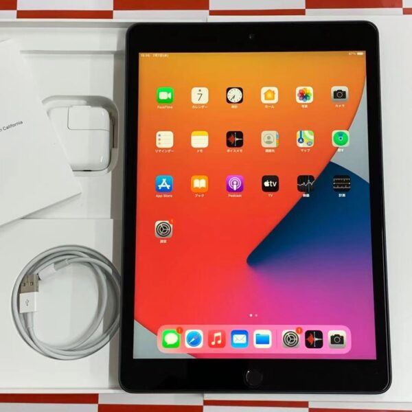 iPad 第7世代 Wi-Fiモデル 32GB MW742J/A 2197 美品-正面