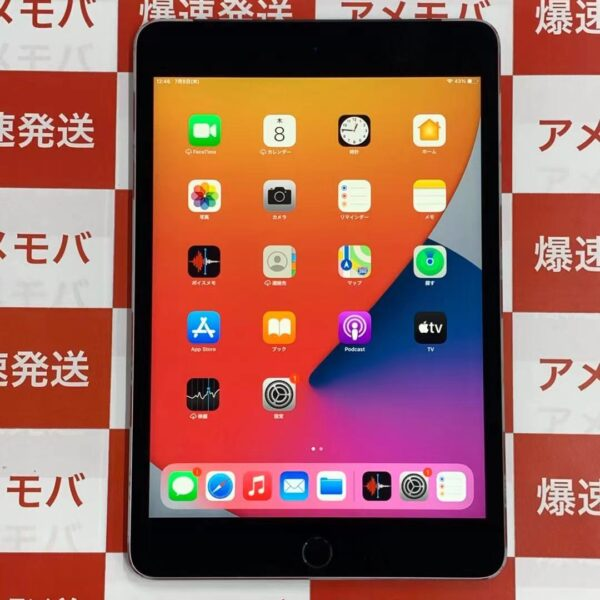 iPad mini 4 SoftBank版SIMフリー 128GB MK762J/A A1550 美品-正面