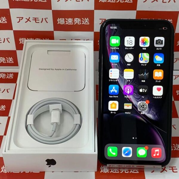 iPhoneXR Apple版SIMフリー 64GB MH6U3J/A A2106 極美品-正面
