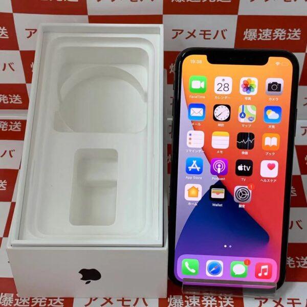 iPhoneX docomo版SIMフリー 256GB NQC12J/A A1902-正面