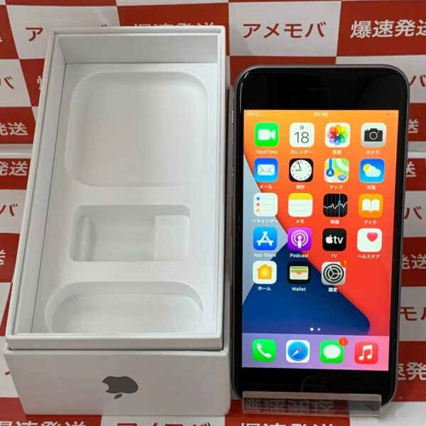 iPhone6s SoftBank版SIMフリー 64GB MKQN2J/A A1688 美品-正面