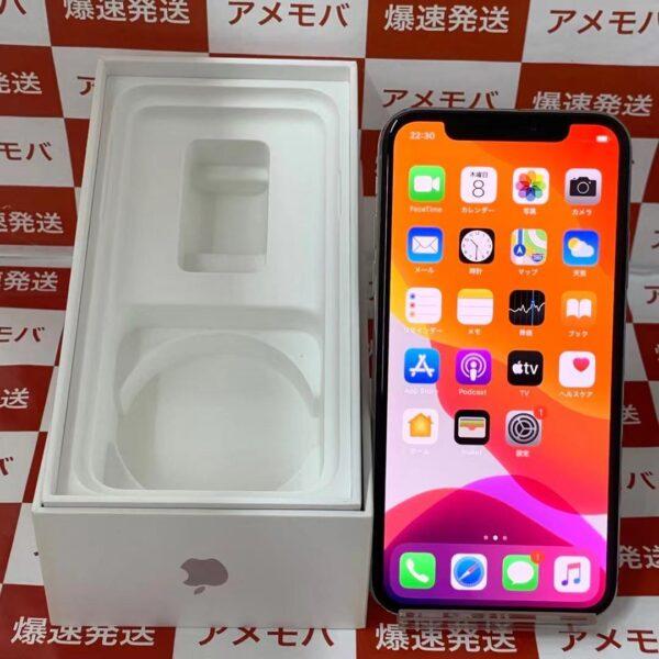 iPhoneX au版SIMフリー 64GB MQAY2J/A A1902-正面