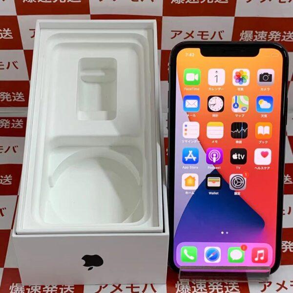 iPhoneX docomo版SIMフリー 64GB NQAX2J/A A1902-正面