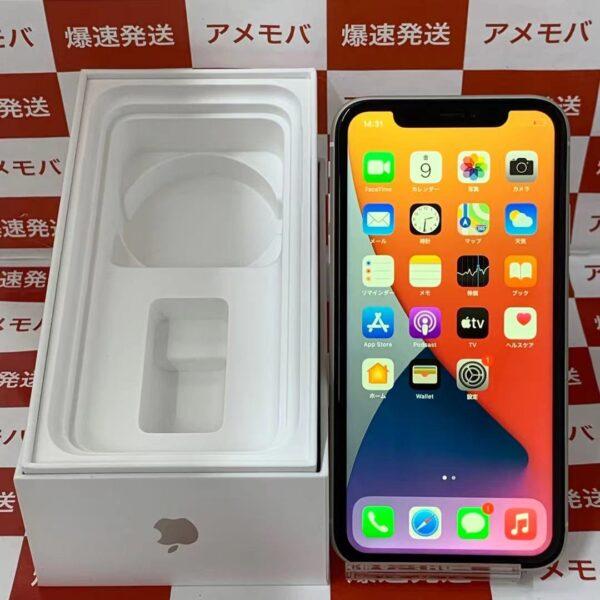 iPhone11 SoftBank版SIMフリー 128GB MWM22J/A A2221 美品-正面