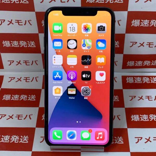 iPhoneX SoftBank版SIMフリー 256GB MQC12J/A A1902 訳あり大特価-正面