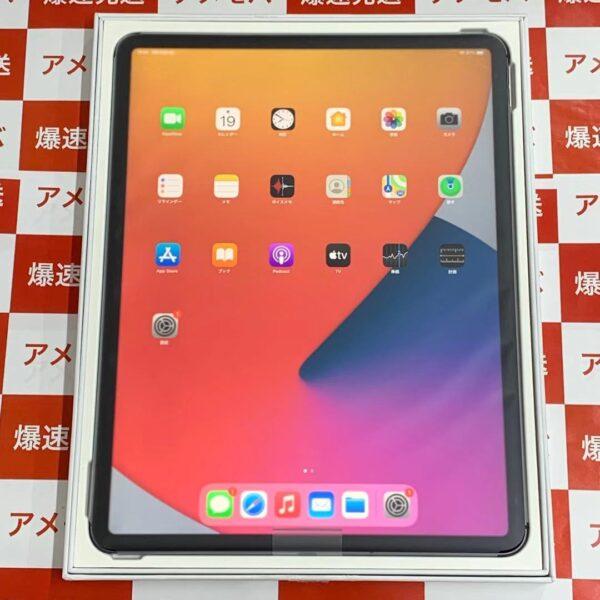iPad Pro 12.9インチ 第4世代 SoftBank版SIMフリー 256GB NXF52J/A A2232 交換未使用品-正面