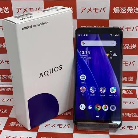 AQUOS sense3 basic SHV48 au 32GB SIMロック解除済み正面