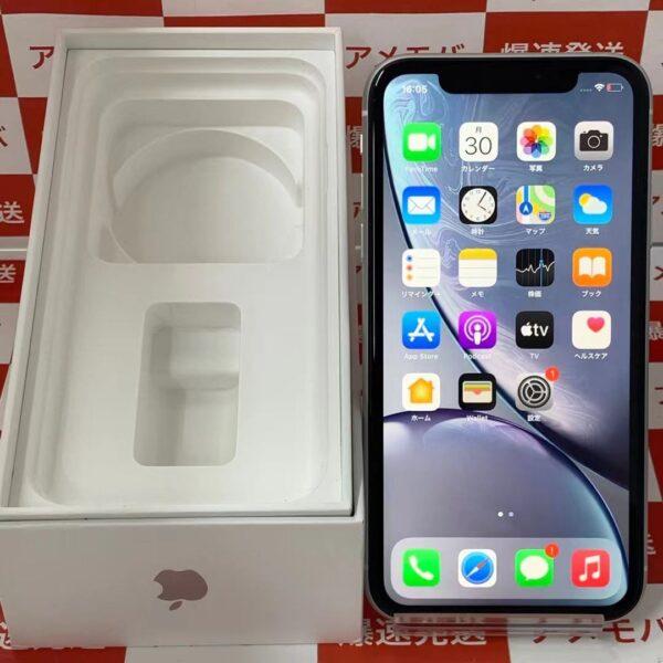 iPhoneXR au版SIMフリー 64GB MT032J/A A2106 美品-正面