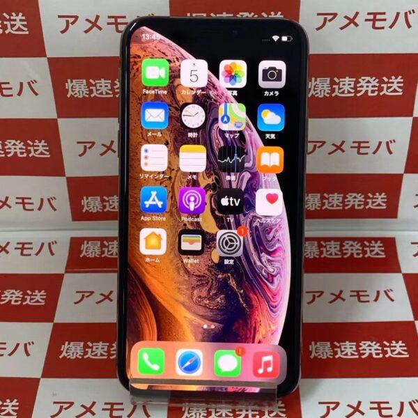iPhoneXS docomo版SIMフリー 256GB MTE22J/A A2098 極美品-正面