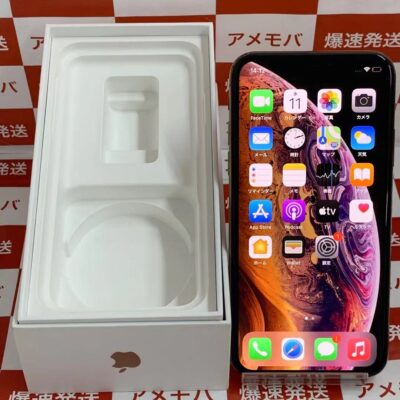 iPhoneXS docomo版SIMフリー 64GB MTAY2J/A A2098 極美品