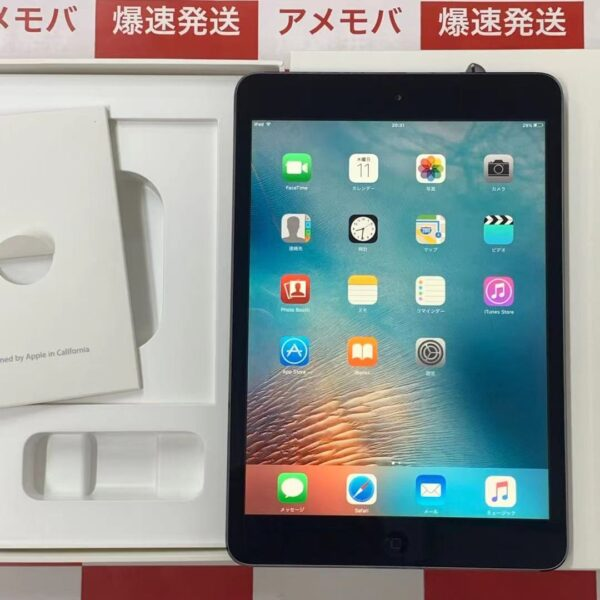 iPad mini(第1世代) Wi-Fiモデル 16GB MF432J/A A1432-正面