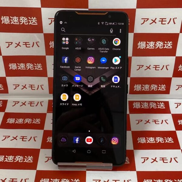 ROG Phone SIMフリー 128GB Z01QD 極美品-正面