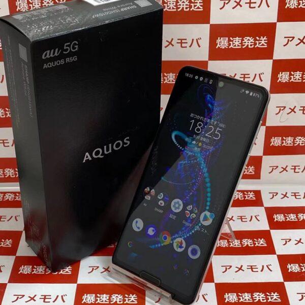 AQUOS R5G SHG01 au 256GB SIMロック解除済み-正面