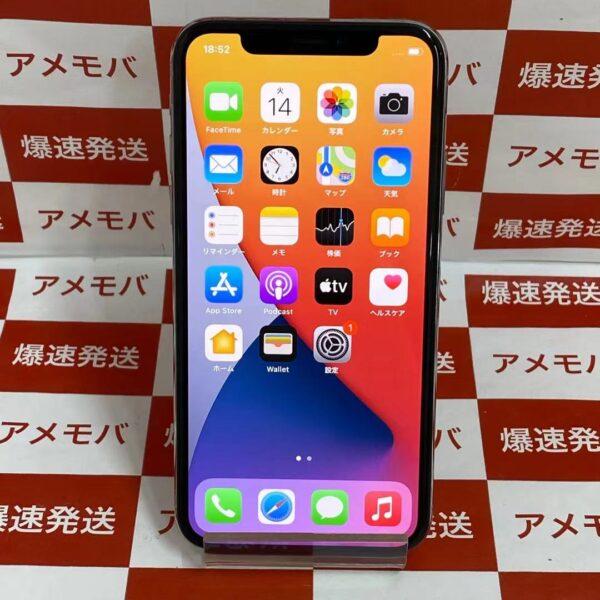 iPhoneX docomo版SIMフリー 64GB MQAY2J/A A1902 極美品-正面
