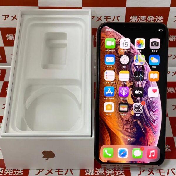 iPhoneXS SoftBank版SIMフリー 256GB MTE22J/A A2098 極美品-正面