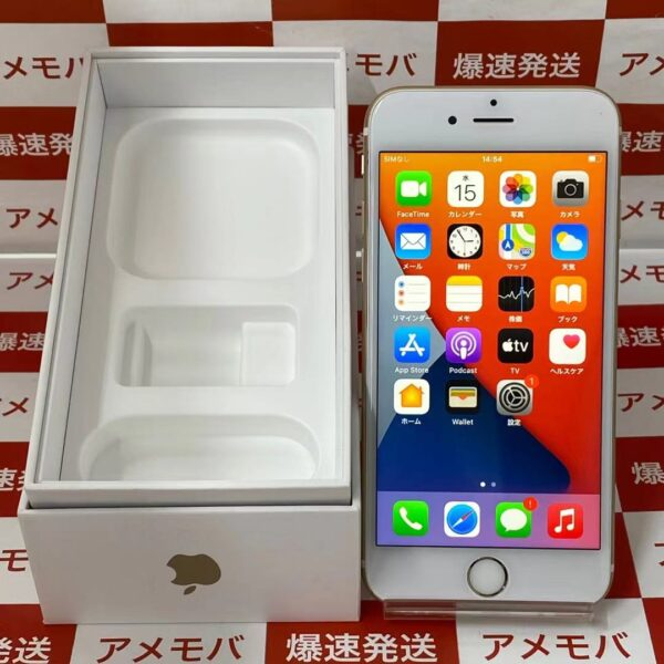 iPhone6s SoftBank版SIMフリー 32GB MN112J/A A1688 美品-正面