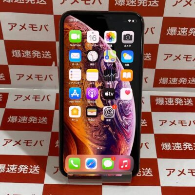 iPhoneXS SoftBank版SIMフリー 64GB MTAY2J/A A2098 美品